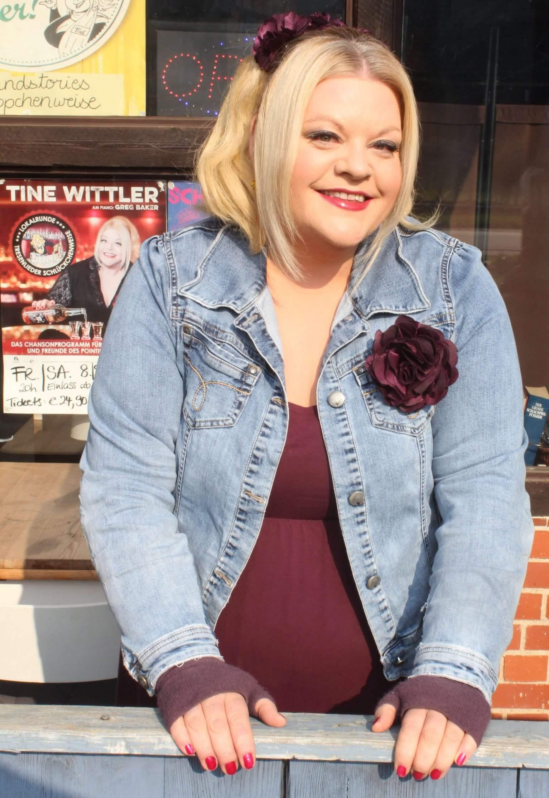 Tine Wittler unterstützt mit Viodeobotschaften Charity
